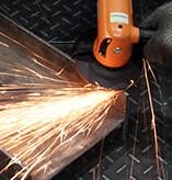 焊点清除,钢构件倒角